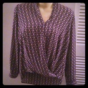 Pleioni wrap blouse